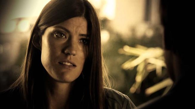Una scena di Debra Morgan in Dexter