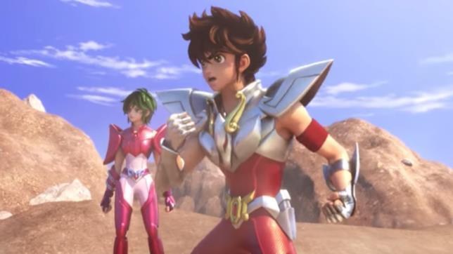 Pegasus e Andromeda 3D