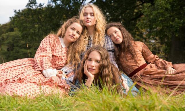 Il cast di Little Women di BBC