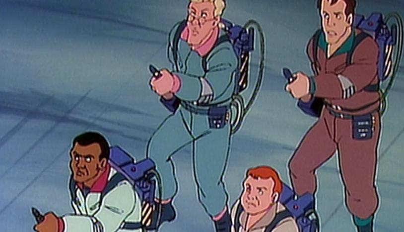The Real Ghostbusters, Peter, Ray, Winston ed Egon