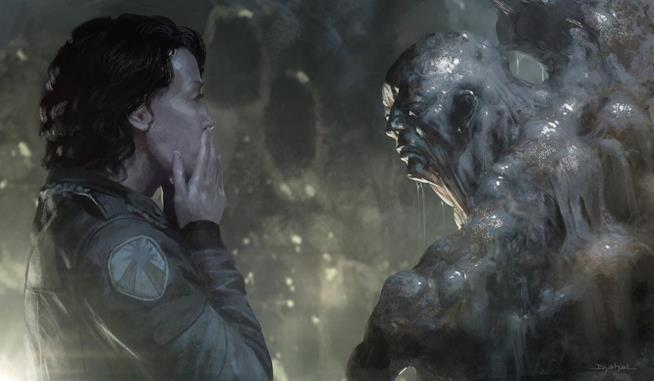 Concept art di Alien 5 di Neill Blomkamp