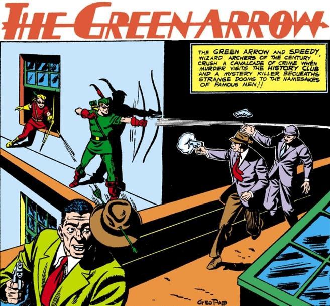 L'esordio di Freccia Verde