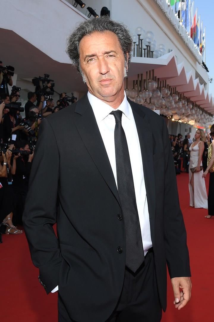 Paolo Sorrentino sul red carpet