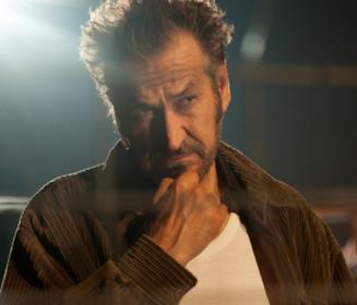 Marco Giallini in una scena del film