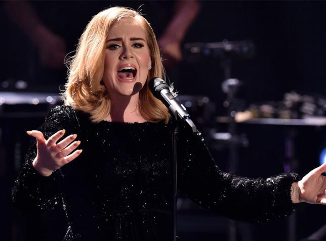 Foto di Adele in concerto