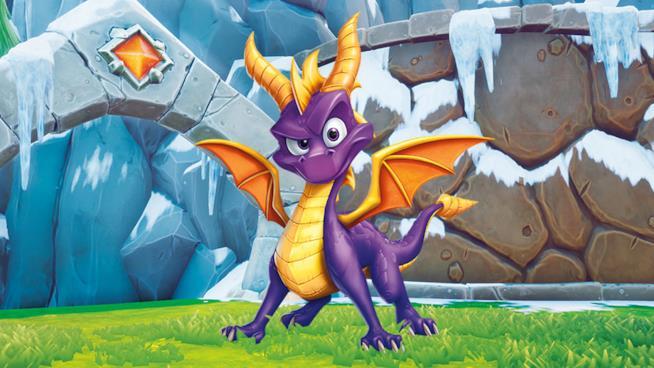 La copertina ufficiale di Spyro Reignited Trilogy