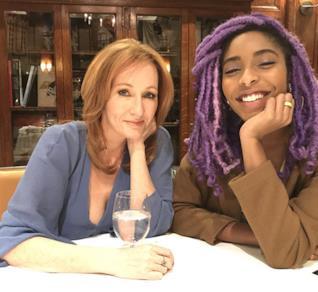 J.K. Rowling e Jessica Williams insieme