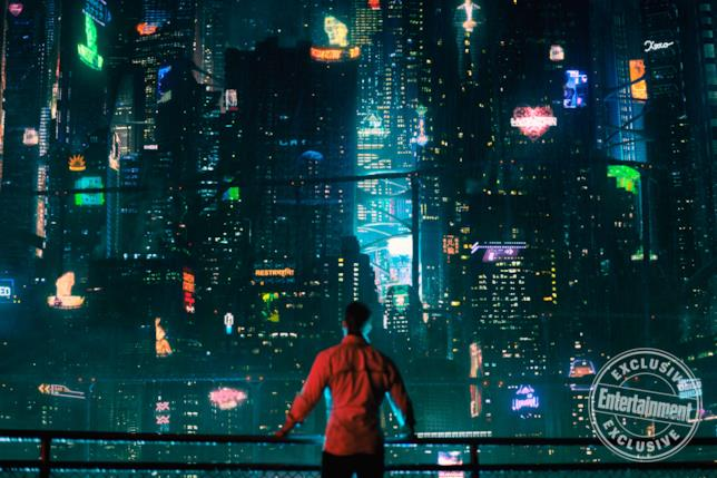 Altered Carbon, un'immagine in anteprima su Entertainment Weekly