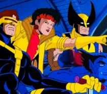 Gli X-Men in un'immagine della serie animata del 1992