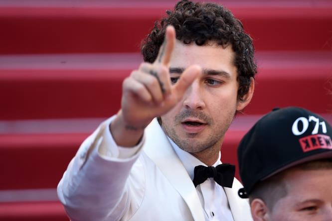 Shia LaBeouf a Cannes 2016