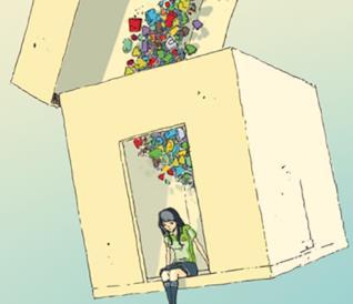 un dettaglio della copertina di La ragazza del Convenience Store