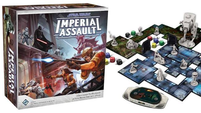Lo scatolone base di Star Wars Assalto Imperiale