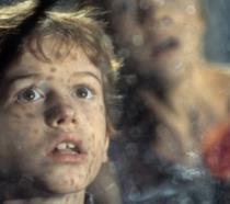 Joe Mazzello in una scena del primo Jurassic Park