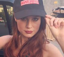 La bella Brie Larson nei panni del suo prossimo ruolo, Captain Marvel
