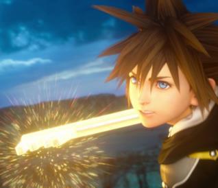 Sora in Kingdom Hearts III