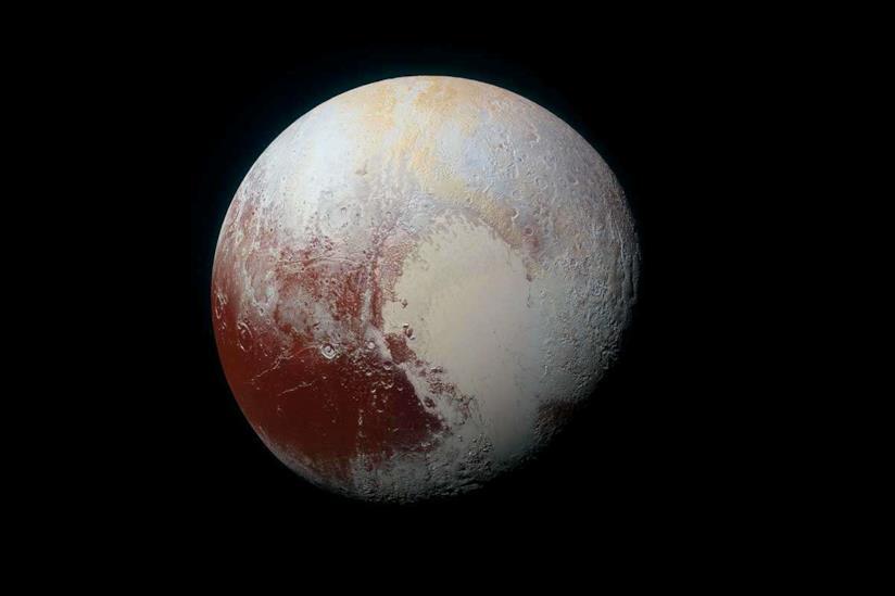 Uno scatto di Plutone