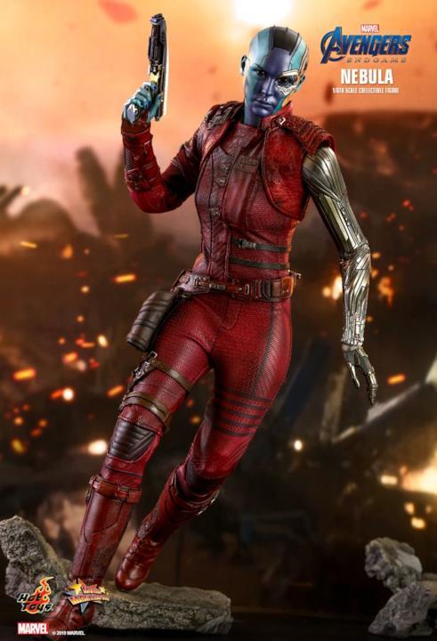 Il look di Nebula in Avengers: Endgame ricreato da Hot Toys