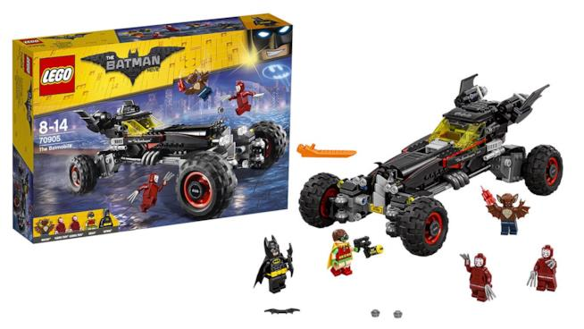 Il set di LEGO Batman - Il Film dedicato alla Batmobile