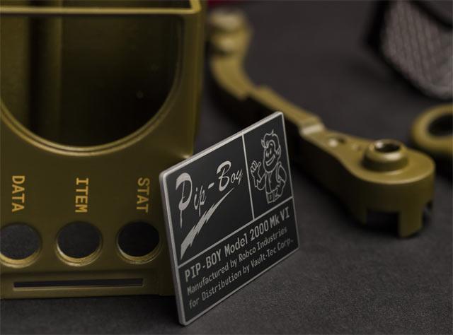 Un particolare del Pip-Boy 2000 di Fallout 76