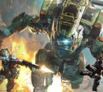 Jack Cooper e il suo Titano combattono in Titanfall 2