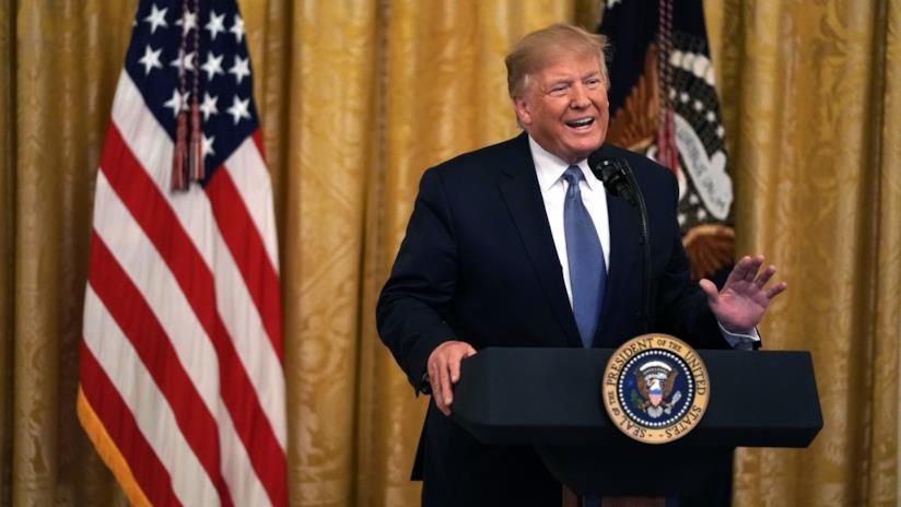 Il Presidente statunitense Donald Trump