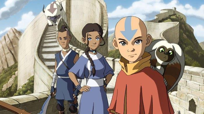 Katara, Sokka e Aang, personaggi di Avatar - La Leggenda di Aang