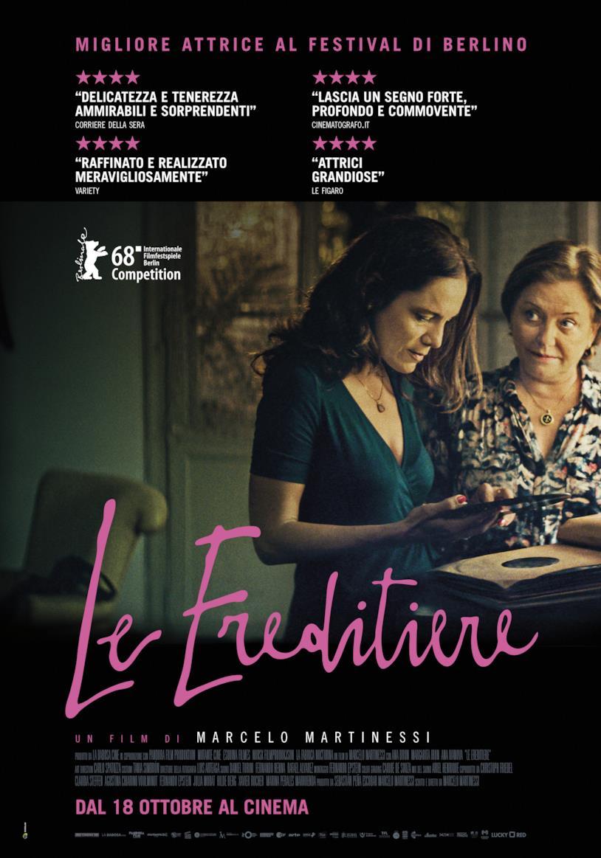 Poster italiano del film Le Ereditiere