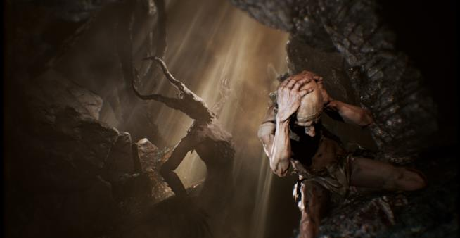 Un artwork ufficiale del survival horror Agony