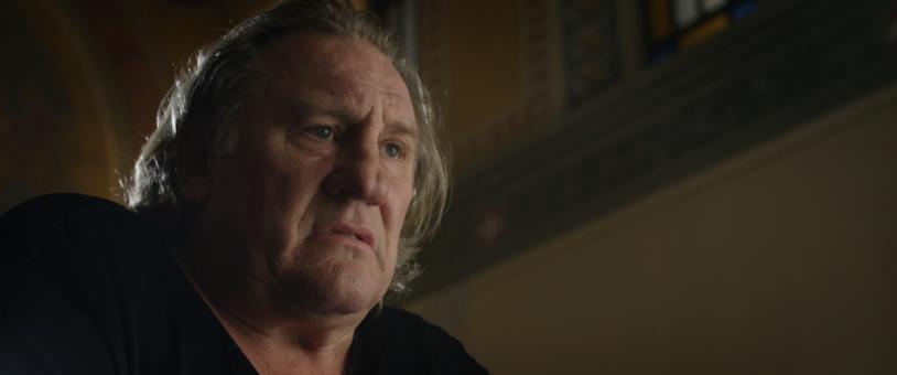 Gérard Depardieu in una scena del film Creators - The Past