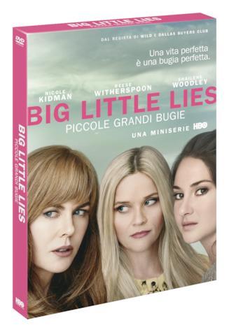 Cover di Big Little Lies in versione DVD