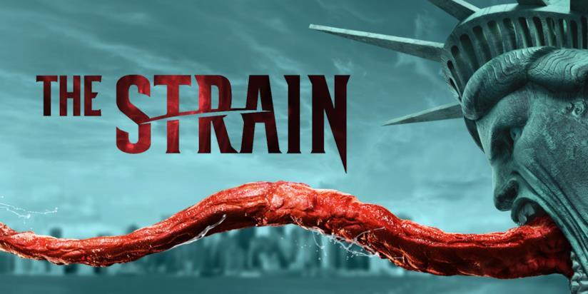 Il poster della terza stagione di The Strain