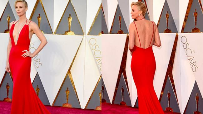 Charlize Theron agli Oscar 2016