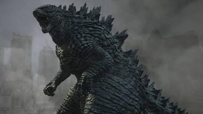Godzilla in azione nel film del 2014