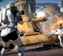 Stormtrooper in azione in Star Wars Battlefront 2