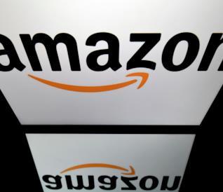 Il logo di Amazon, il gigante della rivendita online