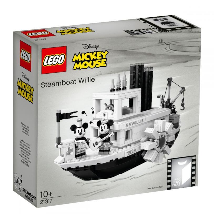 Confezione del LEGO set di Steambot Willie