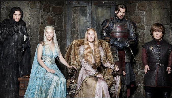 Il cast di Game of Thrones 7