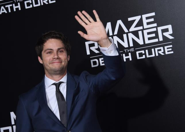 L'attore Dylan O'Brien