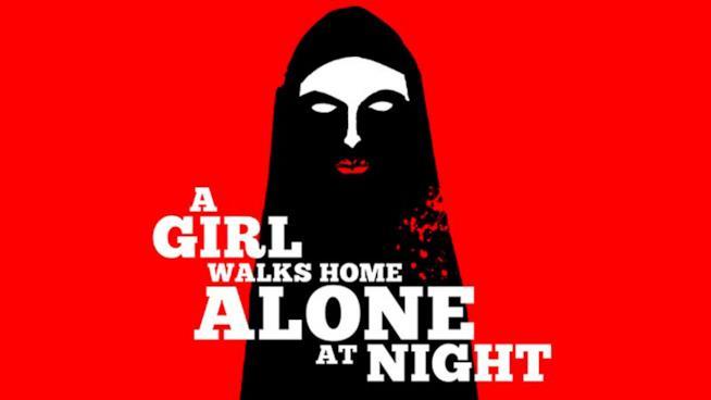 La locandina di A Girl Walks Alone At Night