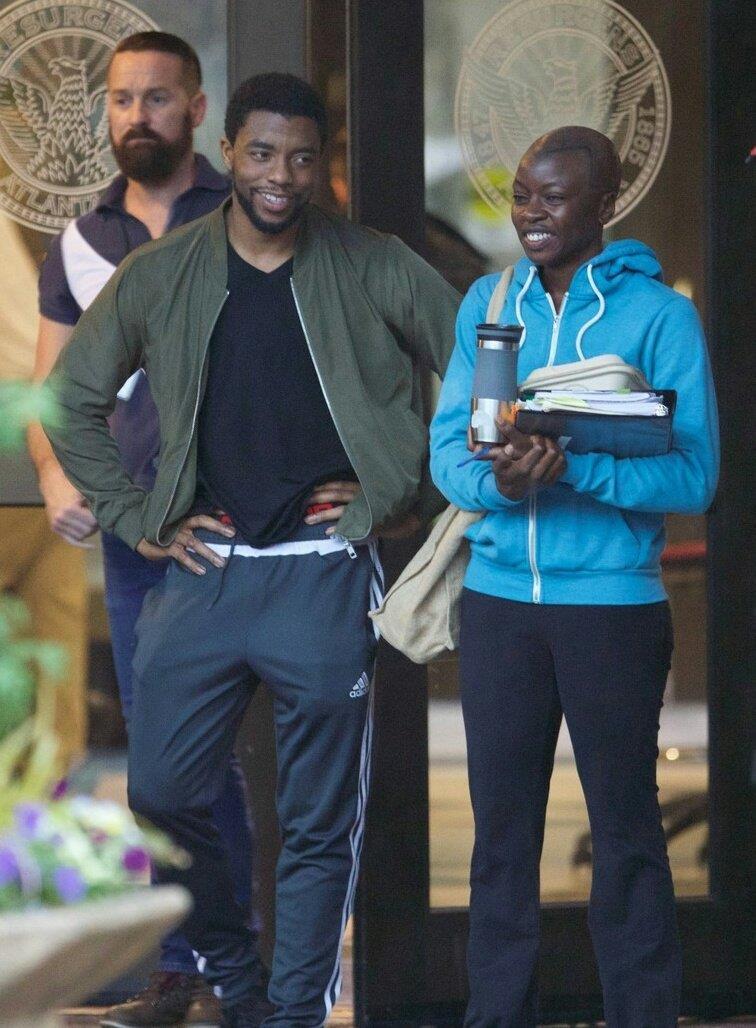 Prime immagini dal set di Black Panther