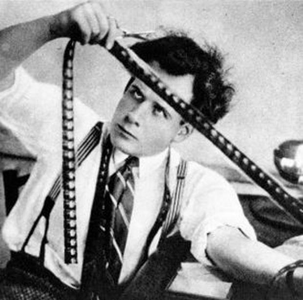 Sergei Eisenstein lavora una pellicola