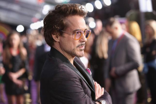 Robert Downey Jr.  interprete di Iron Man
