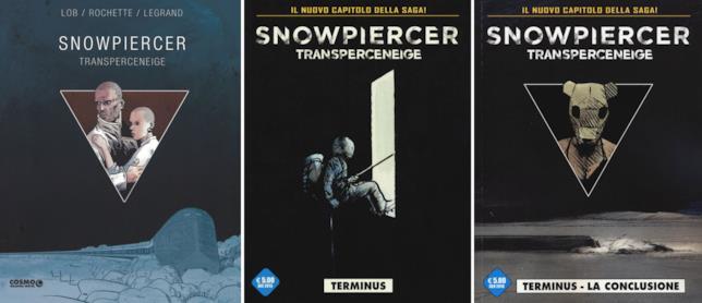 Snowpiercer: i graphic novel editi da Edizioni Cosmo