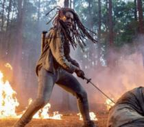 Michonne in The Walking Dead 10x01