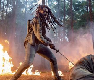 Michonne in The Walking Dead 10x01