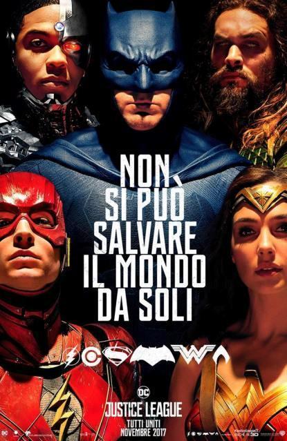 Il nuovo poster ufficiale di Justice League