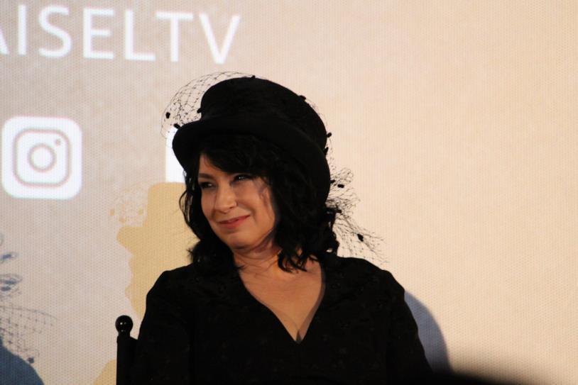 La produttrice e creatrice dello show Amy Sherman-Palladino