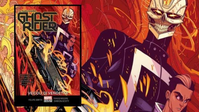 La cover di Il Nuovissimo Ghost Rider - Veicoli Di Vendetta