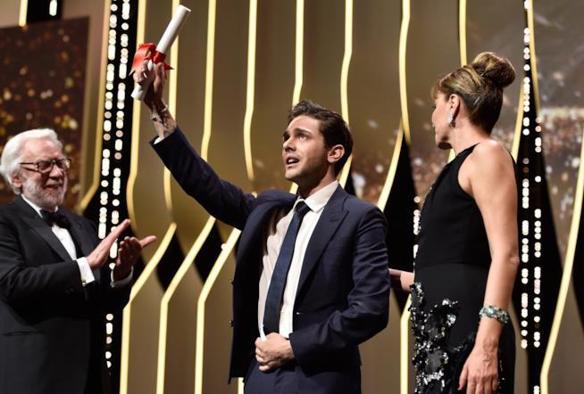 Xavier Dolan al Festival di Cannes