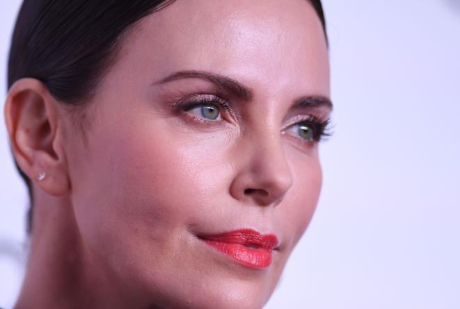 Il volto dell'attrice Charlize Theron